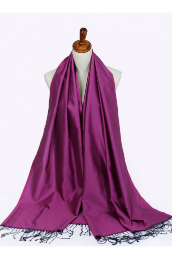 Baby-Purple shawl