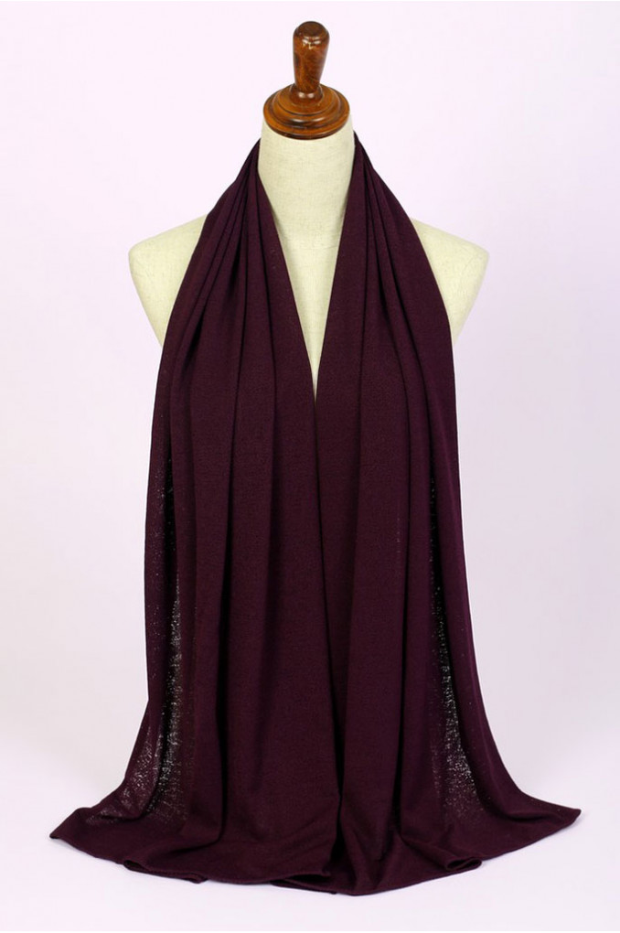 Stylish Burgundy Scarf
