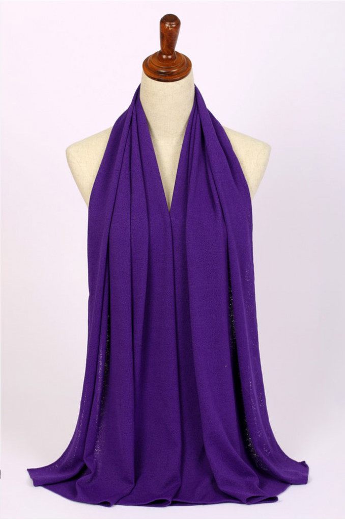 Stylish Dark-Purple Scarf
