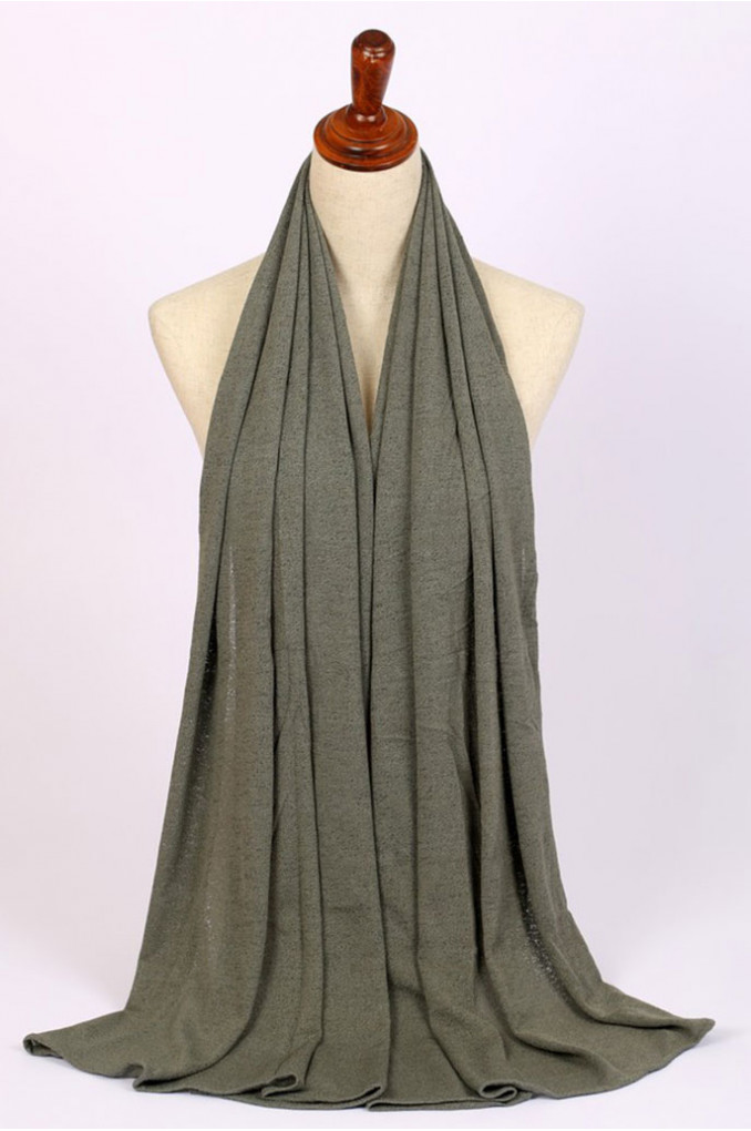 Stylish Dark-Gray Scarf