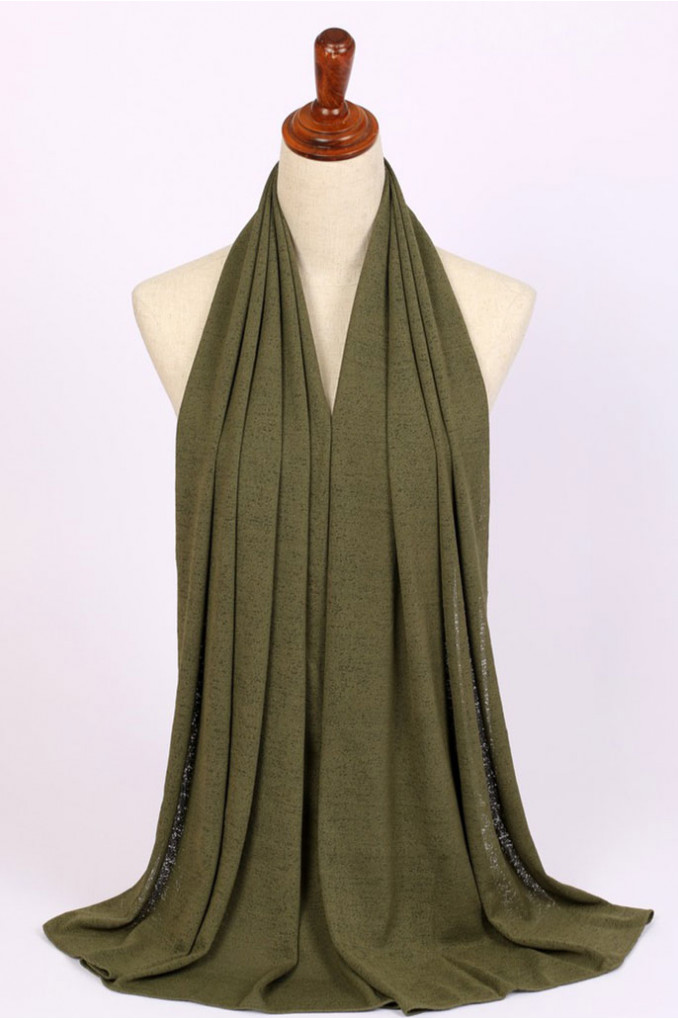 Stylish Green Scarf