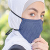 Navy Blue Fabric Face mask