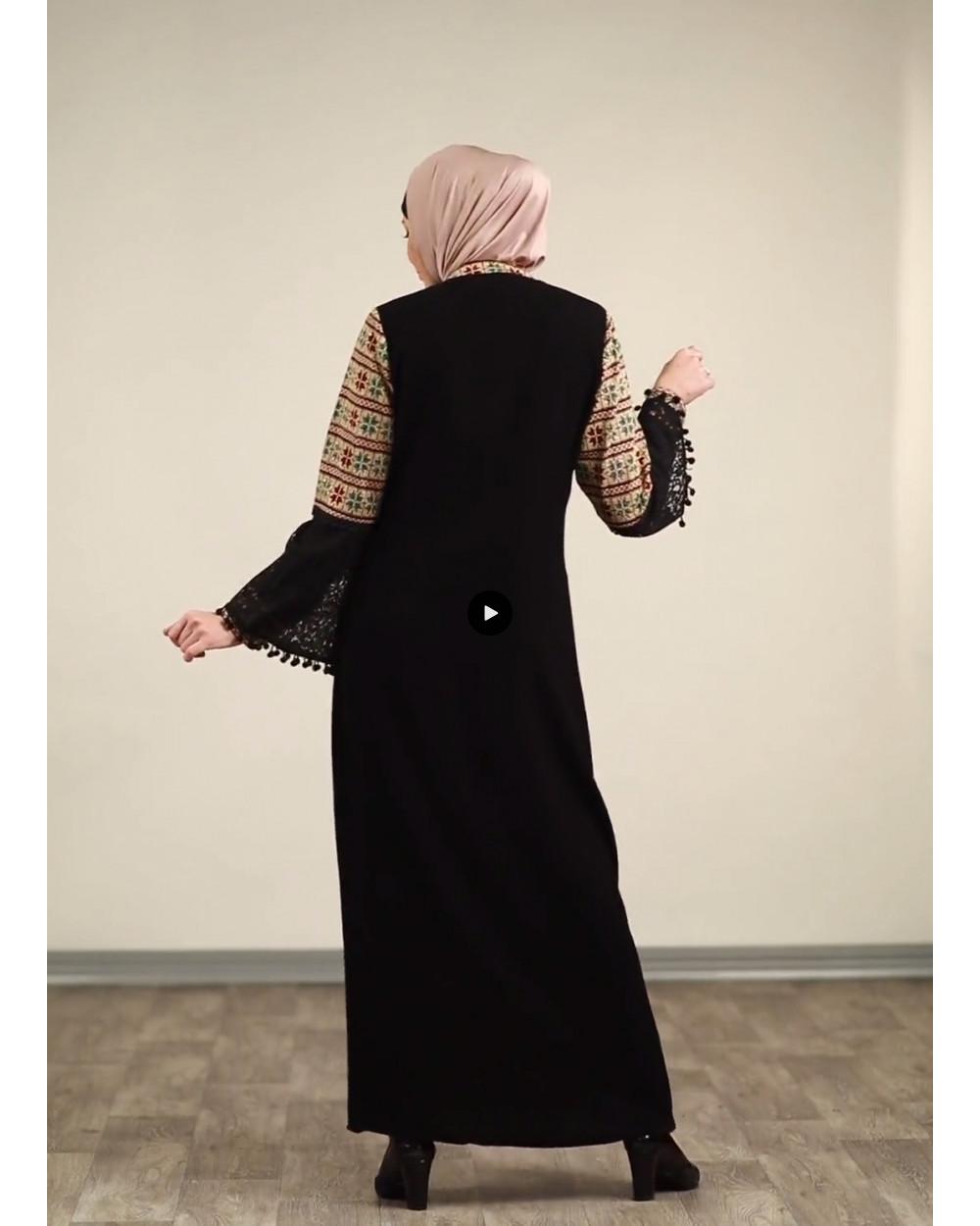 Full Embroidery Abaya