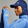 Blue and Navy Blue Full Women Sport Suit