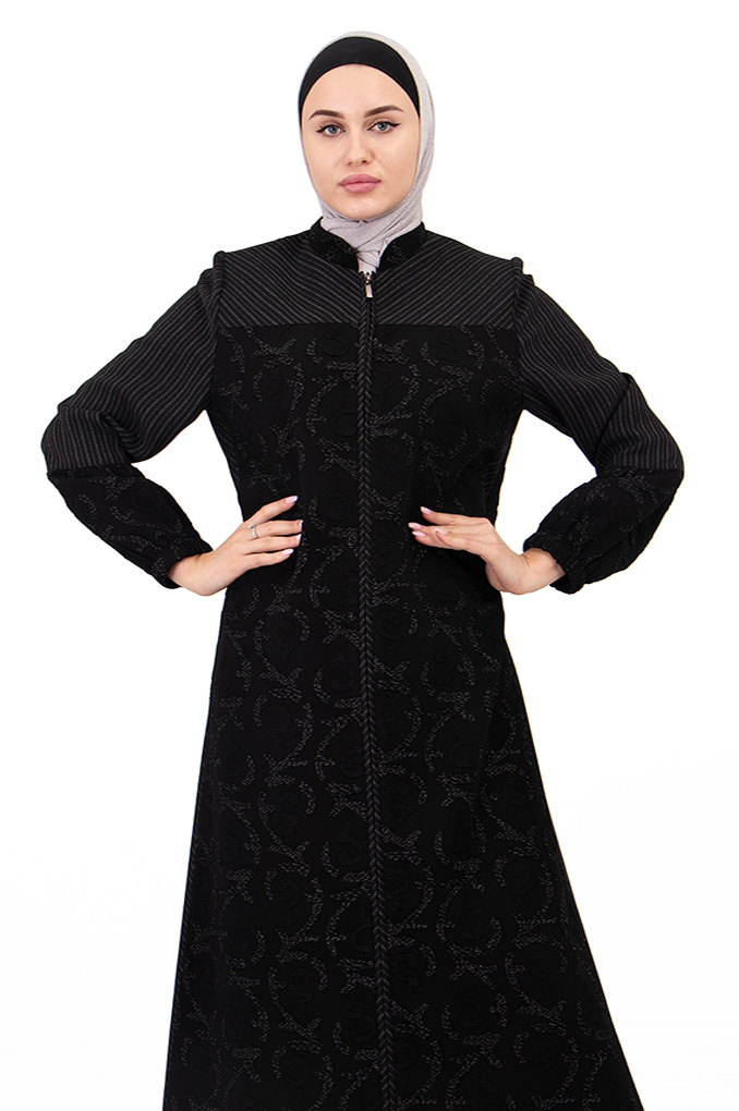 Black Formal Abaya