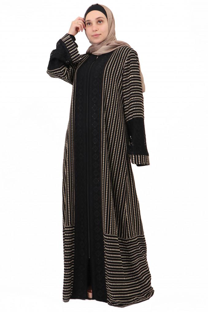 Formal Embroidery Abaya