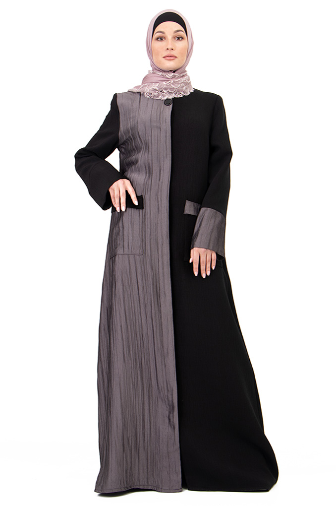 Elegant Casual Two colors Abaya