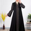 Classic Black Embroider Abaya