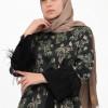 Elegant Colored Dress Style Abaya