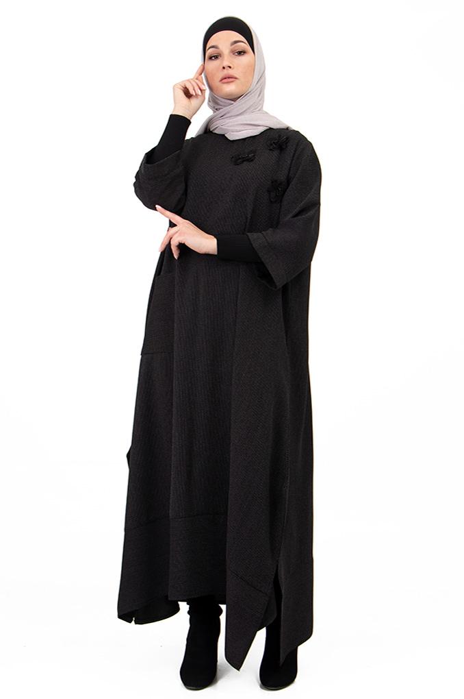 Casual Long Tonics Abaya Style