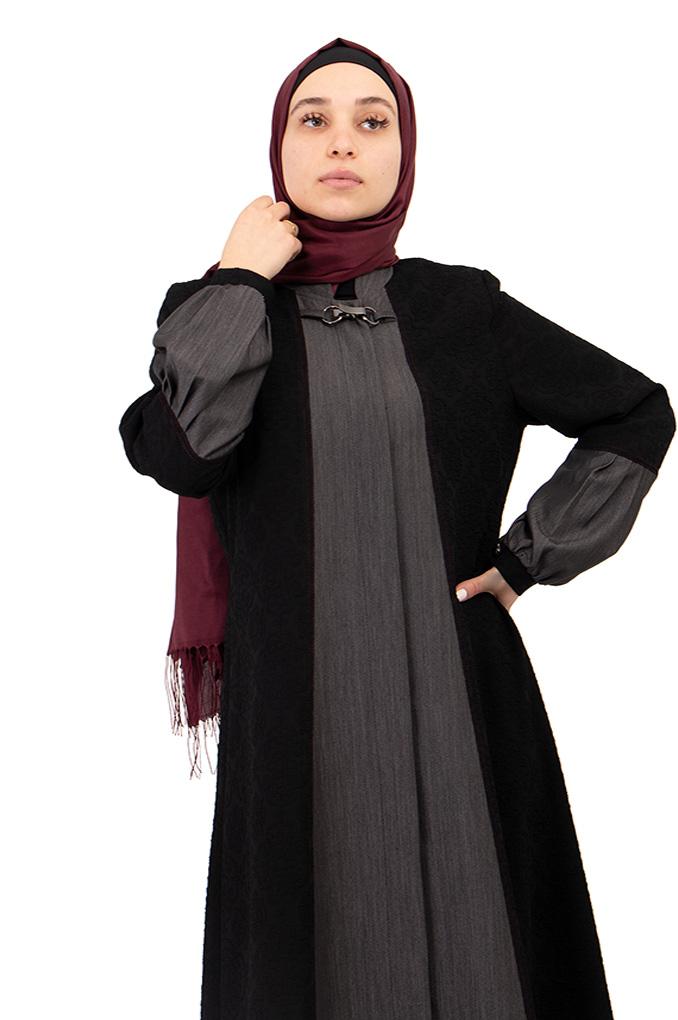 Elegant Formal Two colors Abaya