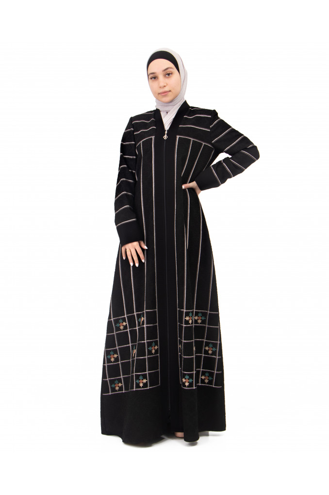 Modern embroidered Abaya