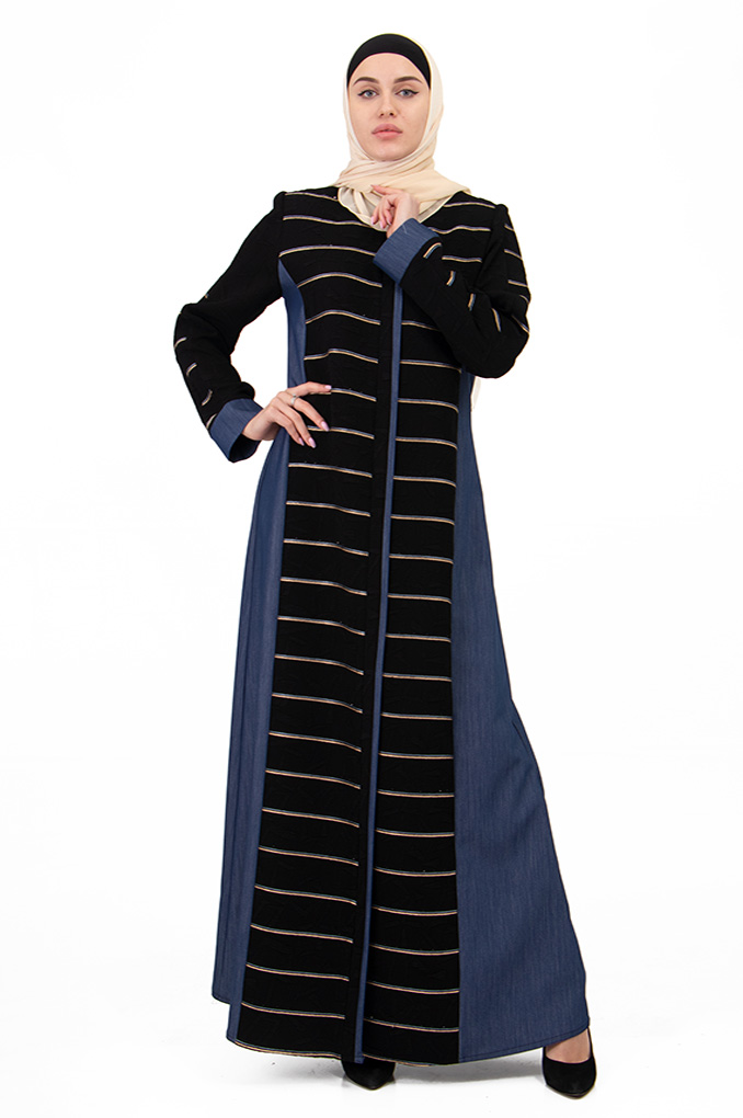 Formal colored style abaya
