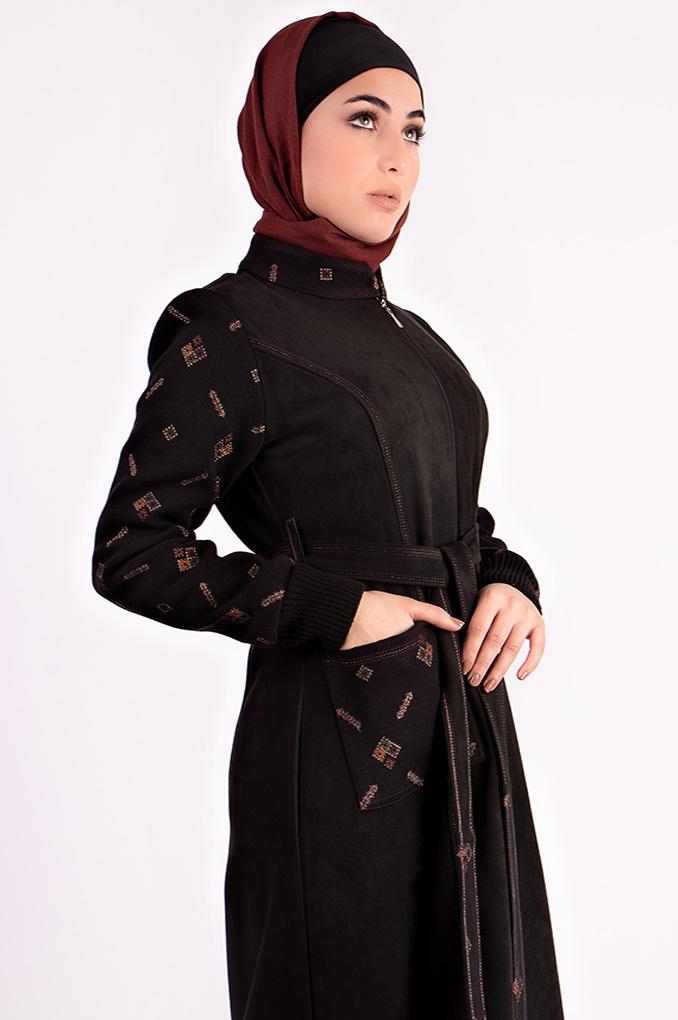 Casual Winter Suede simple jilbab