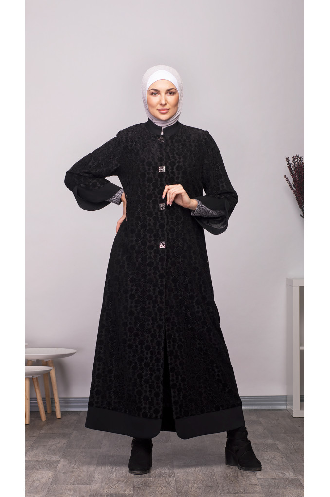 Short Formal Winter Abaya