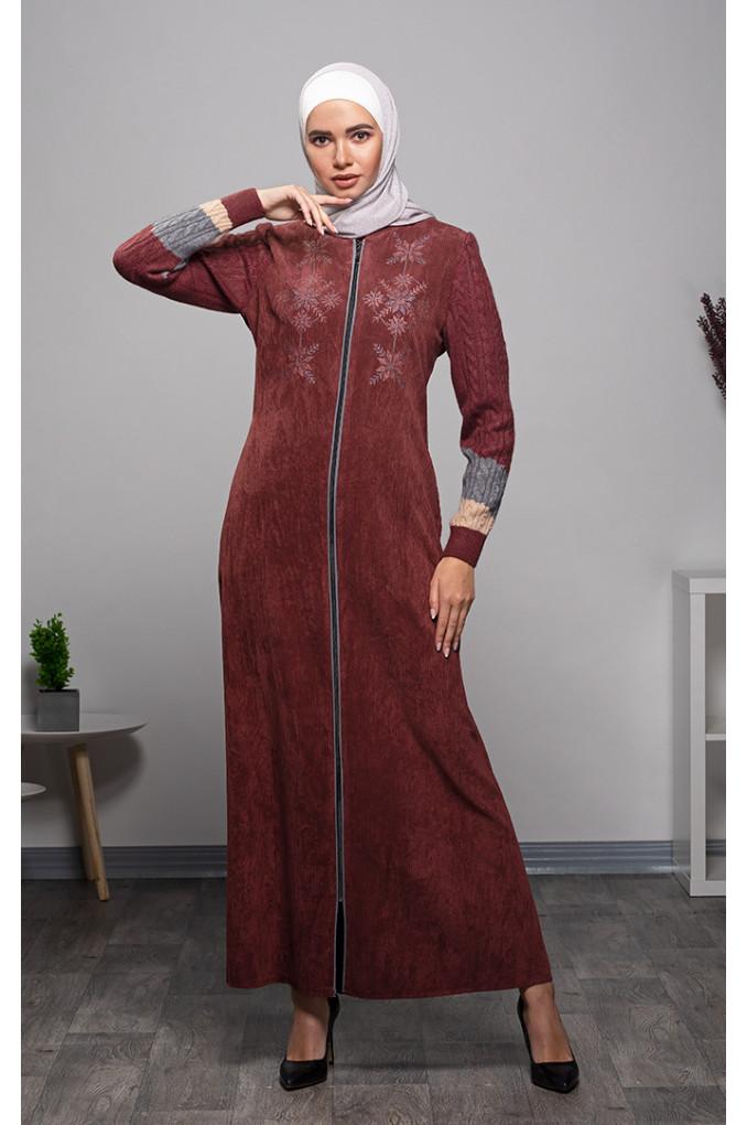 Casual Winter Corduroy and knitwear Jilbab