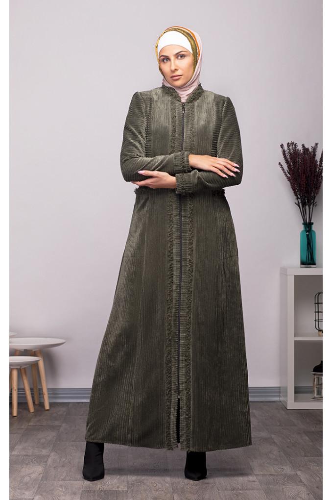 Formal Winter Corduroy Abaya