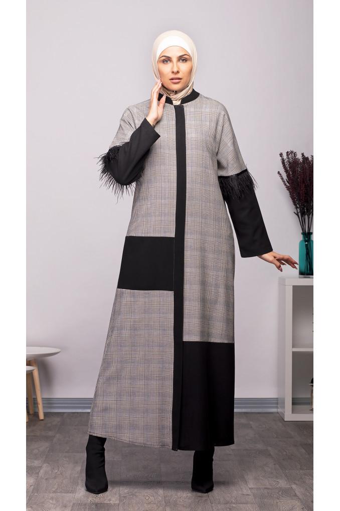Modern Winter Formal Abaya