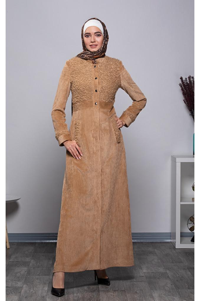 Formal Winter Corduroyr Jilbab