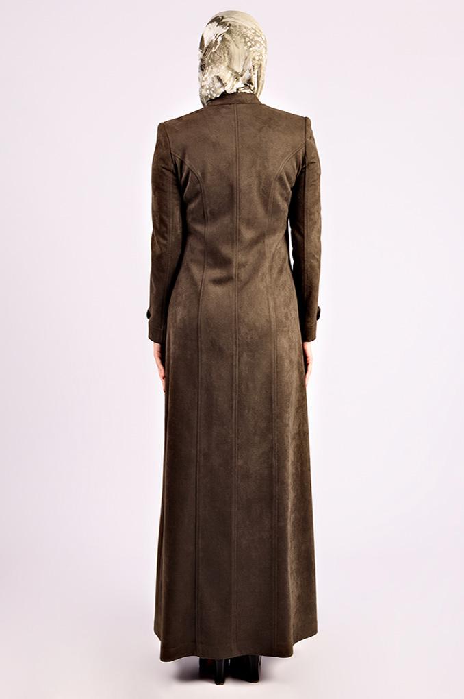 Formal Soft Winter Suede Jilbab