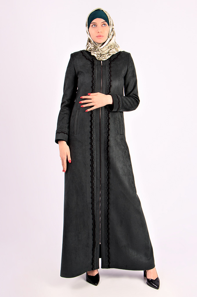 Casual Winter Simple Abaya