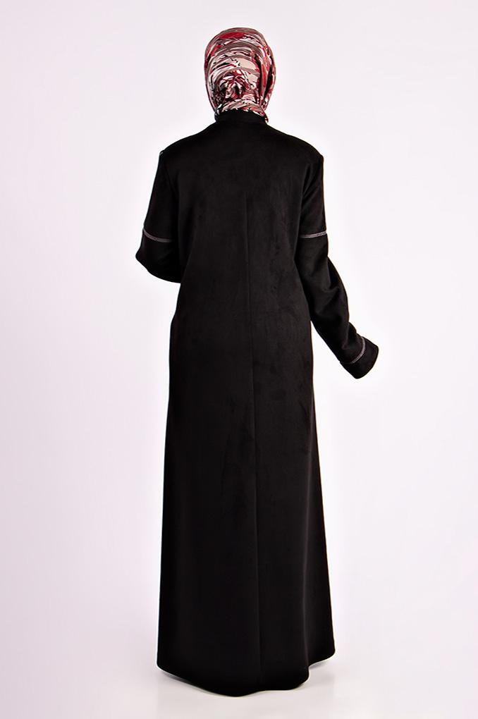 Casual Soft Winter Suede  Jilbab