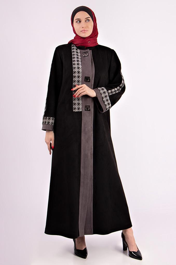 Formal Soft Winter Woolen Abaya
