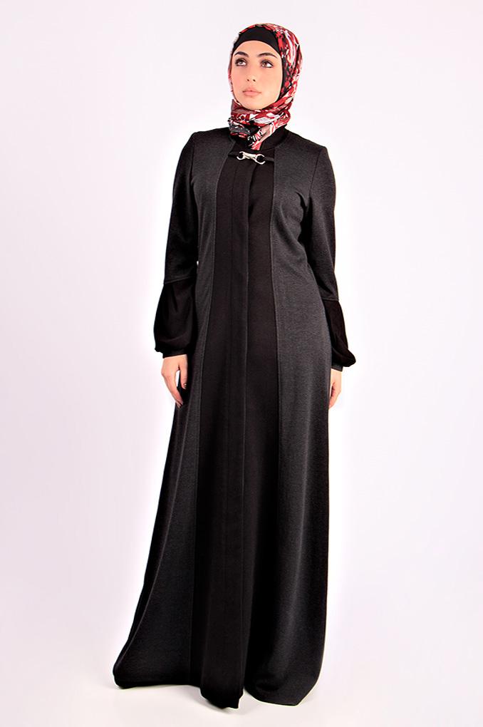 Casual Winter Woollen Abaya